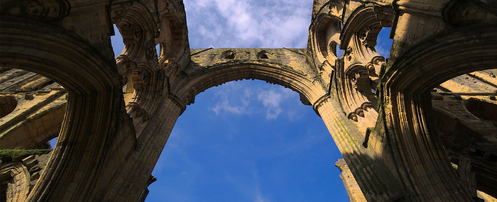 Rievaulx Abbey homepage banner